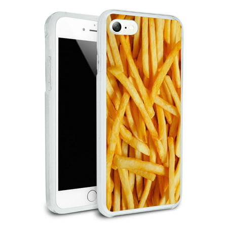 French Hybrid (French Fries Protective Slim Hybrid Rubber Bumper Case for Apple iPhone)