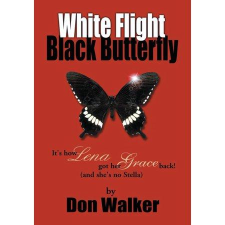 Butterfly Flight - White Flight Black Butterfly - eBook