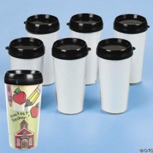 Fun Express Design Your Own Travel Mug 6 Pack 16 Oz Walmartcom
