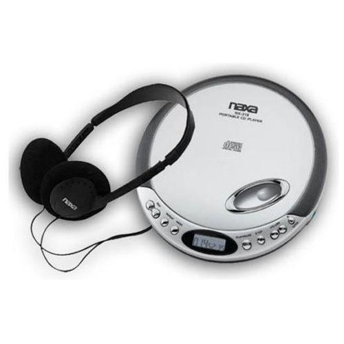 Naxa NPC319BK Slim Personal Compact Disc Player (colors vary)