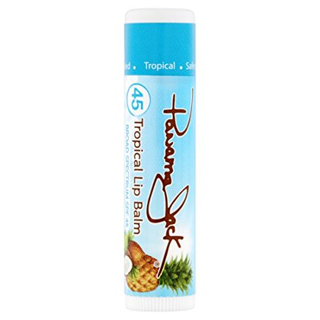 Panama Jack Tropical Lip Balm - SPF 45 Broad Spectrum UVA-UVB Sunscreen Protection Prevents & Soothes Dry Chapped Lips (Tropical - Pack of 3) - image 2 of 4