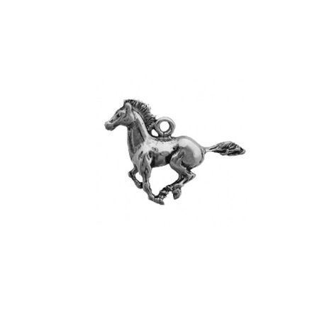 - Sterling Silver 3D Mustang Galloping Horse Charm Item #1835 …