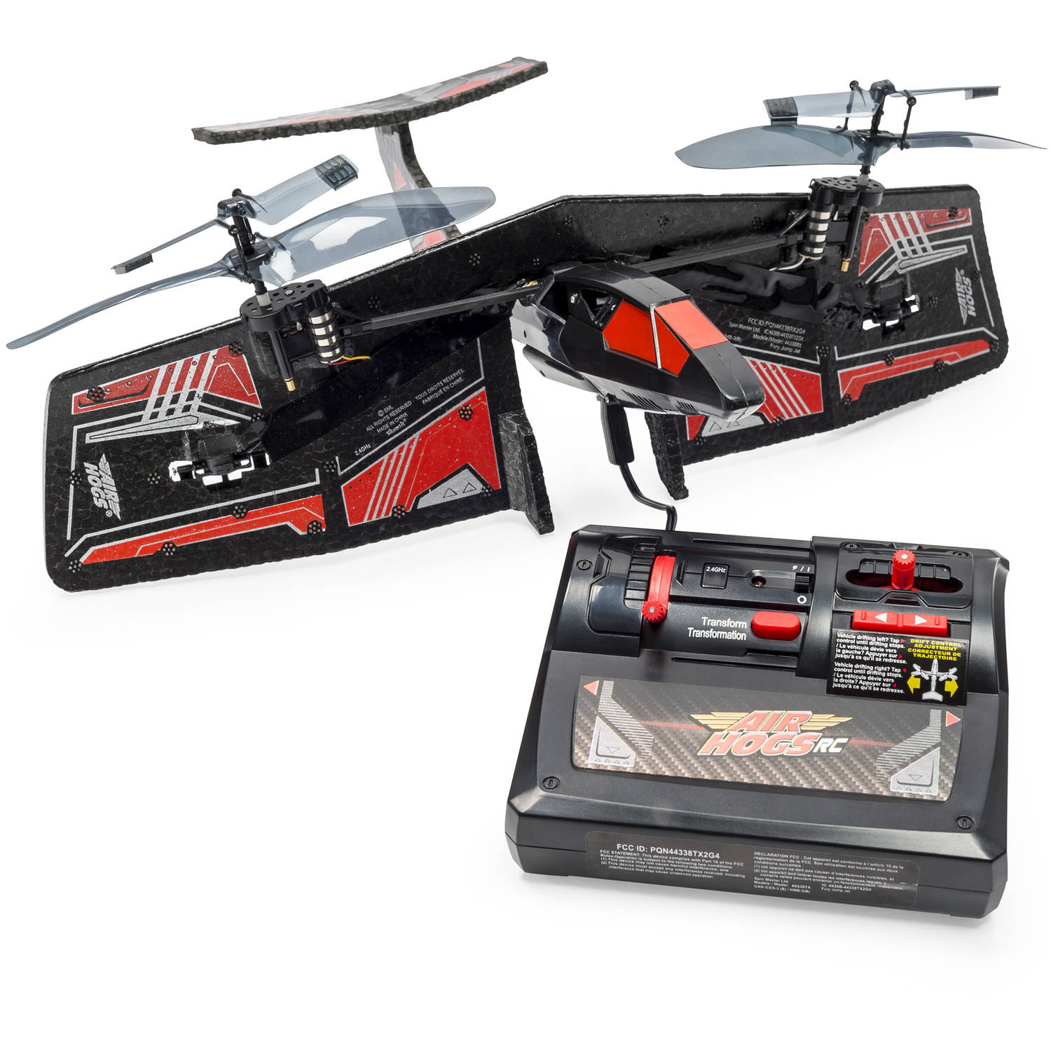 Air Hogs Fury Jump Jet R C Helicopter Walmart