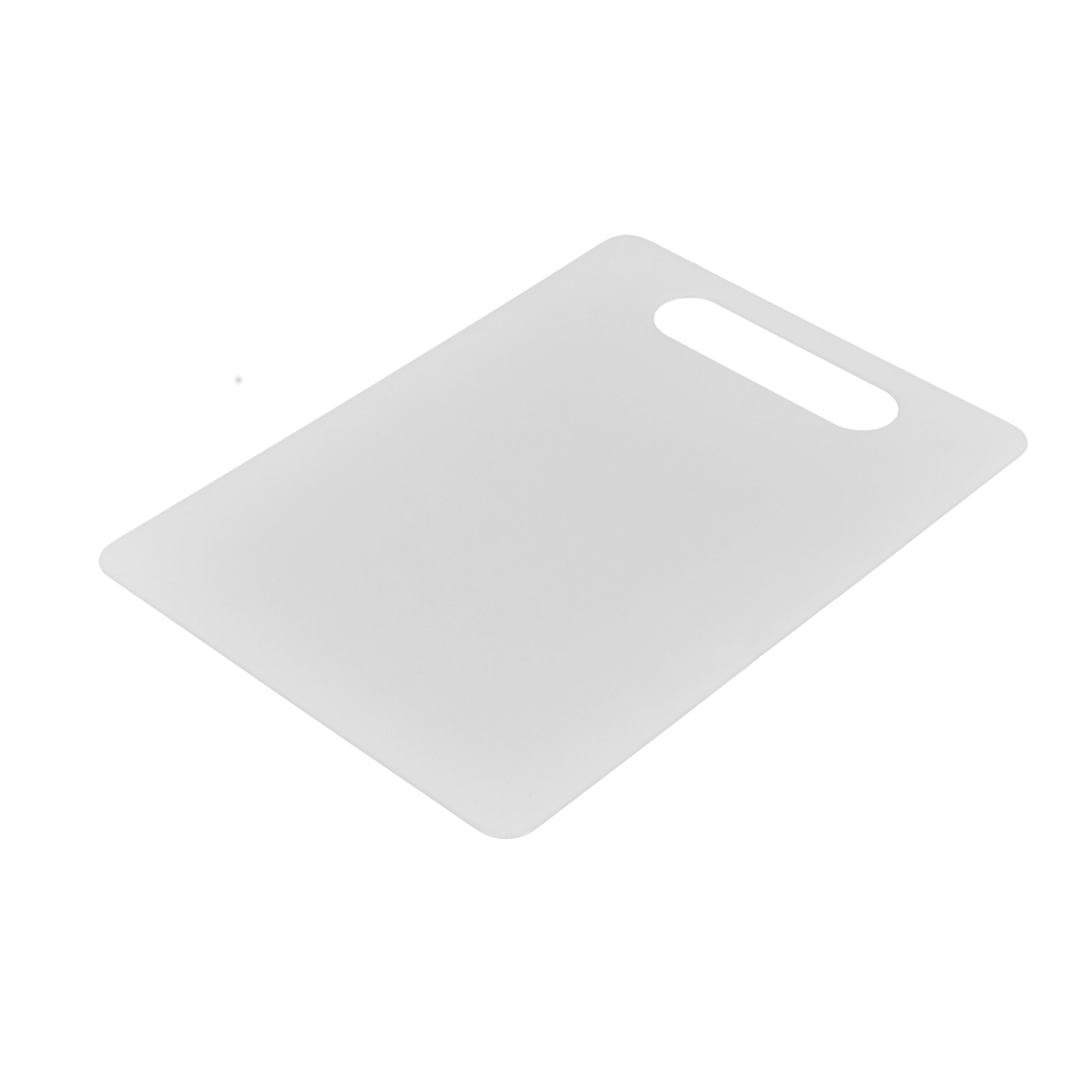 Kitchen Table Plastic Flexible Slicing Cutting Chopping Board Mat White