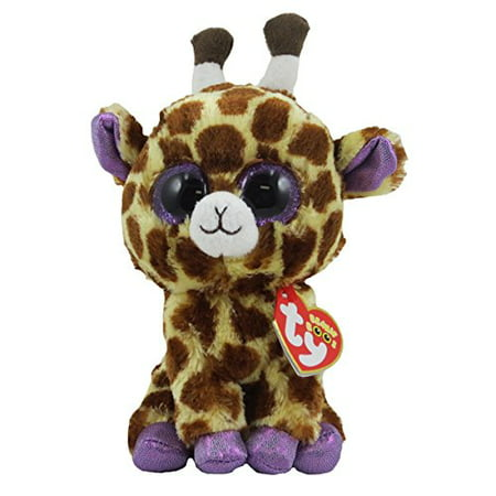 TY Beanie Boos - SAFARI the Giraffe (Glitter Eyes) Small 6