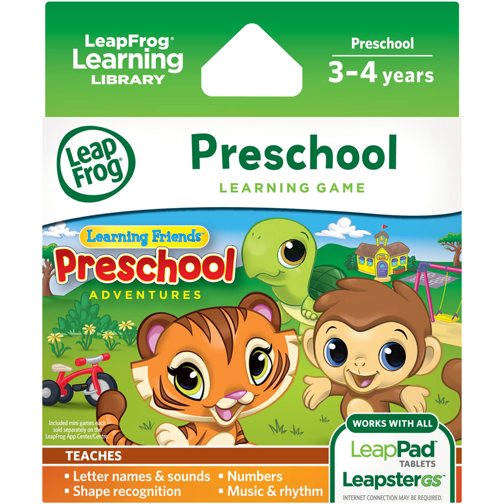 LeapFrog Learning Friends: Preschool Adventures Learning Game by LeapFrog