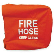 MOON AMERICAN 138-7 Fire Hose Cover,25 In.L,25 In.W,Red
