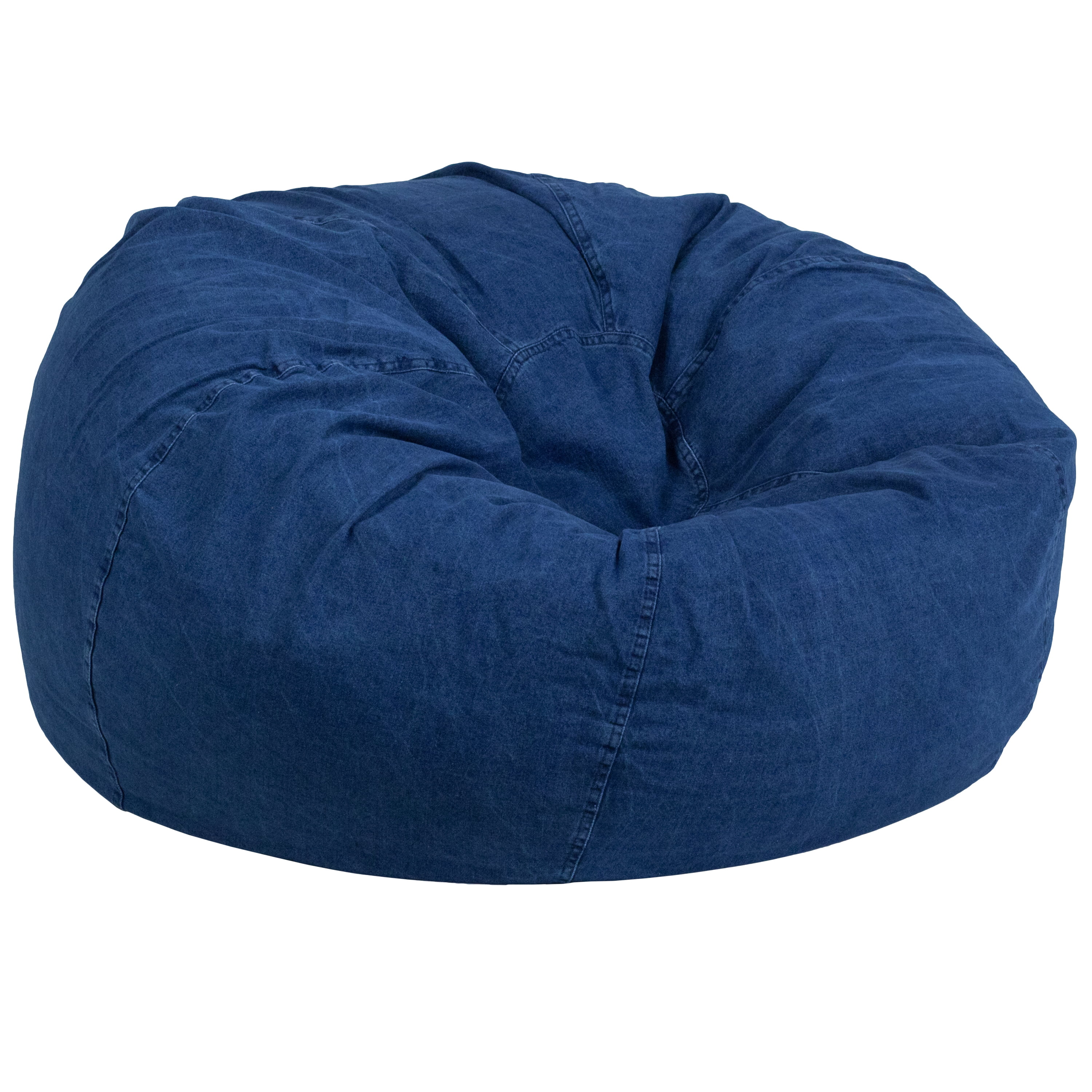 Flash Furniture Oversized Bean Bag Chair Multiple Colors