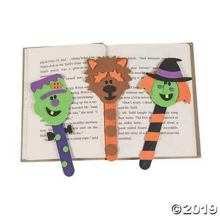 Halloween Character Bookmark Craft Kit - Homemade Halloween Bookmarks