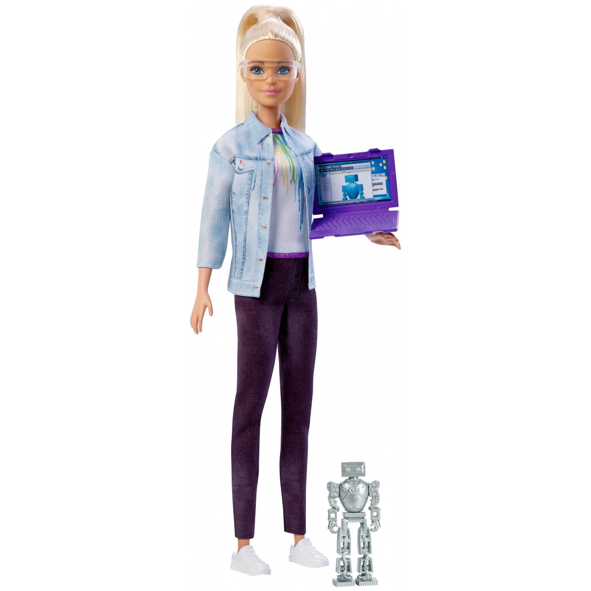 Barbie Careers Robotics Engineer Doll, Blonde