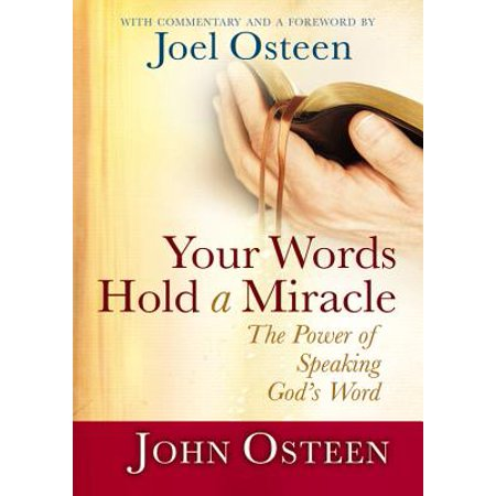 Your Words Hold a Miracle : The Power of Speaking God's