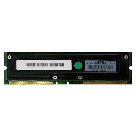COMPAQ 239067-001 HP 512MB, 800MHz, PC800 ECC Rambus RDRAM RIMM memory module.