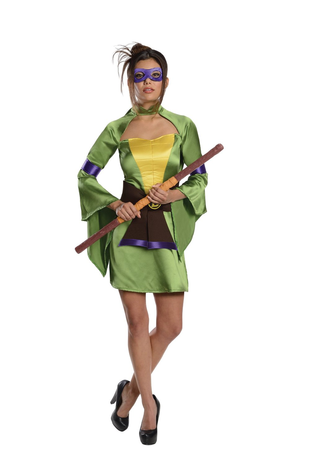 Teenage Mutant Ninja Turtles Donatello 6pc Adult Costume, Purple Green,  Small   Walmart.com