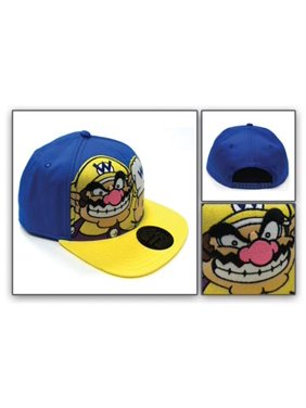 551d3886a7cbc Product Image Baseball Cap - Nintendo - Wario Blue Snapback Cap Anime Hat  New 84300ntn. Super Mario Bros.