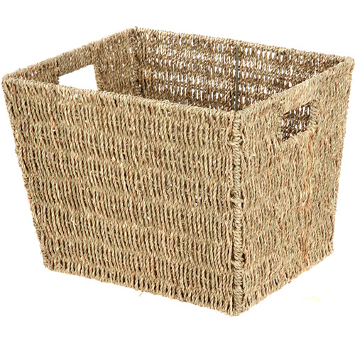 Mainstays Seagrass Medium Basket