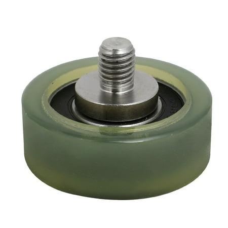 M10 x 12mm Filetage F Type roulement 17mm poulie tendeur x 50mm x 18mm - image 3 de 3
