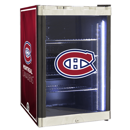 NHL Refrigerated Beverage Center 2.5 cu ft- Montreal Canadiens by
