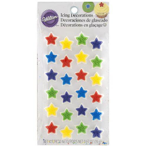Wilton Star Bright Icing Decorations