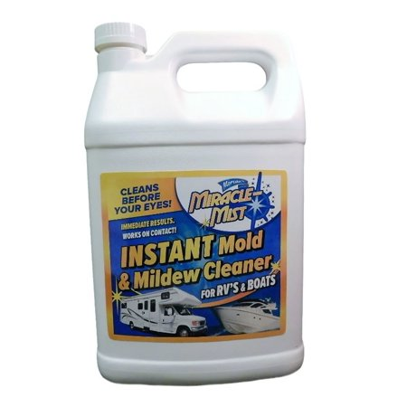 MiracleMist-Instant Mold and Mildew Cleaner for RV's and Boats, 1 Gallon ()