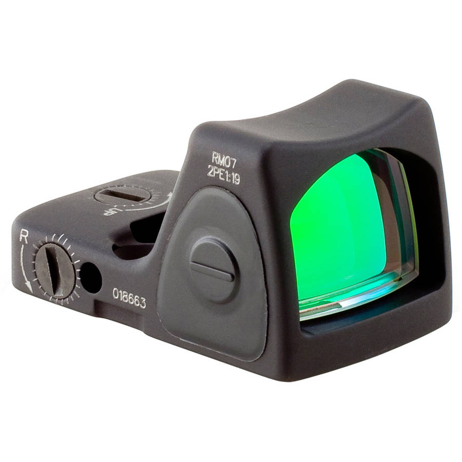 Trijicon Adjustable Ruggedized Miniature Reflex, Red Dot, Black, 6.5 MOA