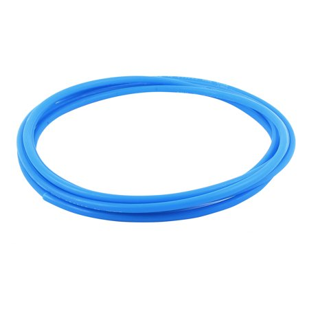 Flexible Drauble PU Tube Pneumatic Polyurethane 6 x 4mm Hose 3 Meters Long Blue - image 2 de 2