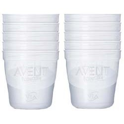 Philips Avent VIA Refill Packs Cups, 10 x 8oz. 240 ml - CLOSEOUT!!