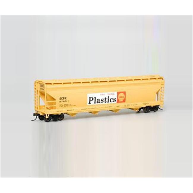 Bachmann BAC17534 HO 56 ft.  ACF Centerflow Hopper Shell