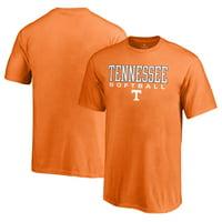 Tennessee Volunteers Fanatics Branded Youth True Sport Softball T-Shirt - Tennessee Orange