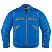 Icon Sanctuary Mens Textile Jacket Blue