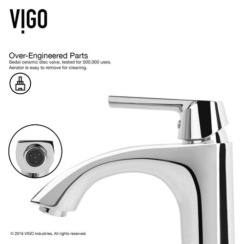 VIGO Penela Single Lever Bathroom Faucet