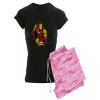 CafePress - Iron Man Paint Splatter - Women's Dark Pajamas