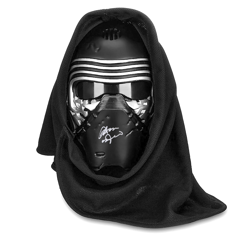 Adam Driver Autographed Star Wars: The Force Awakens Kylo Ren Voice Changing Mask