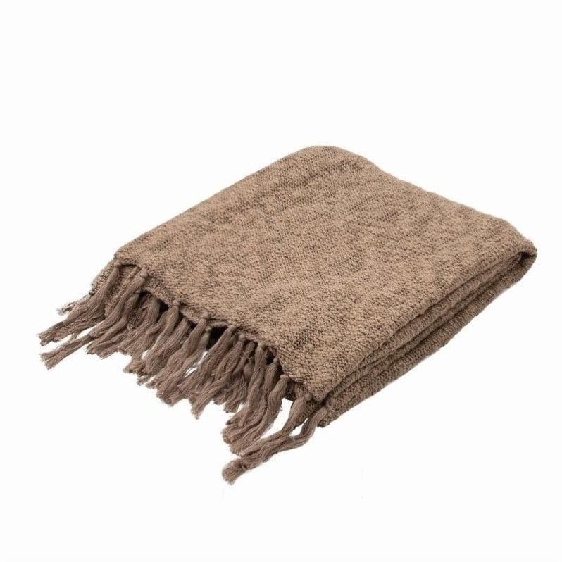 Jaipur Rugs Gem Soft Hand Solid Pattern Cotton Throw