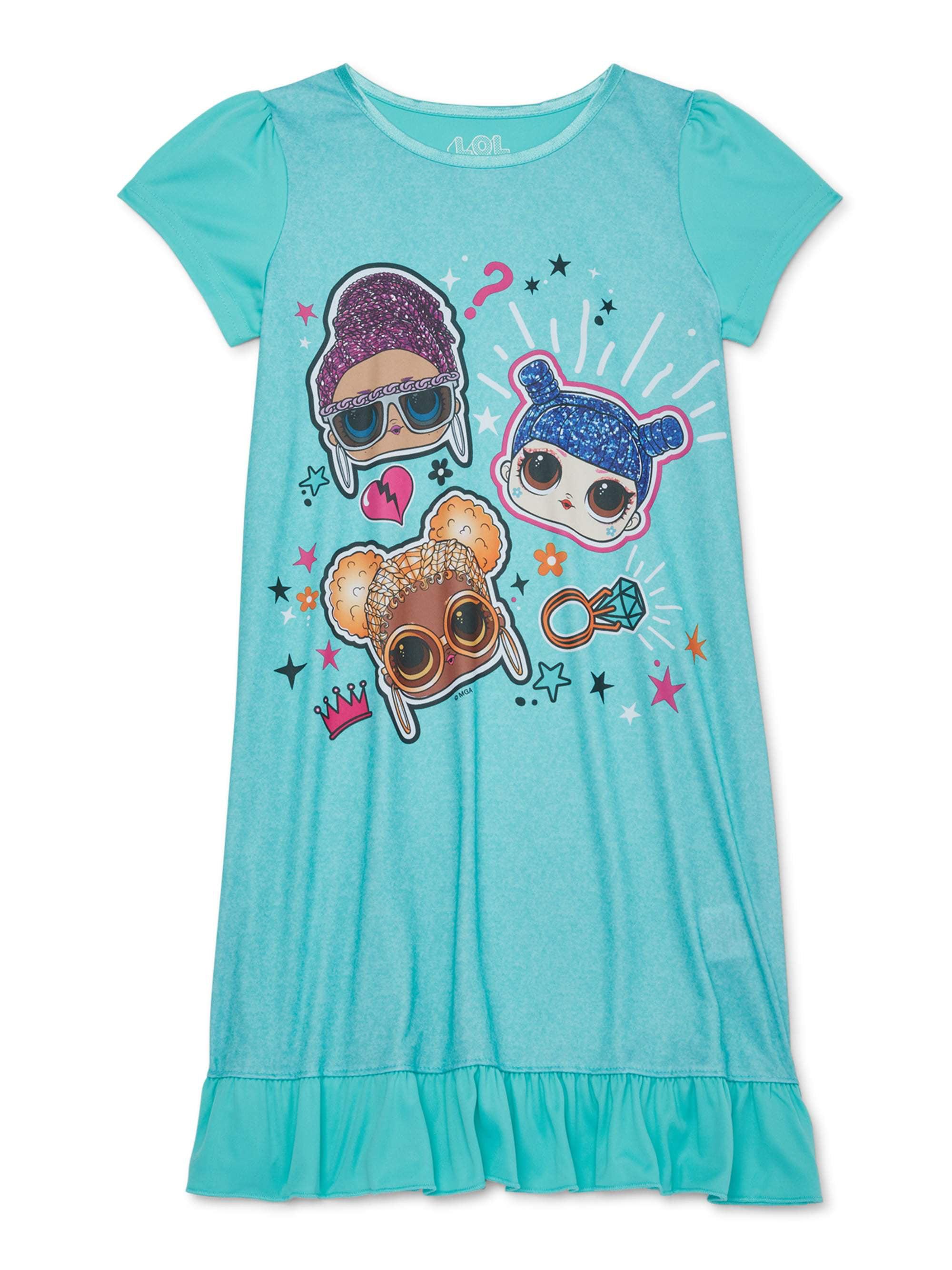 LOL SURPRISE Doll Girls Kids Short Sleeve Pyjama Set with Pockets