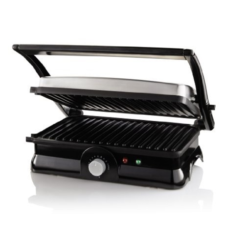 Sunbeam CKSBPM5020 2-Slice Panini Maker - Black/Stainless