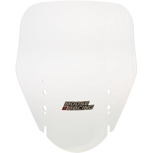"Moose Racing Adventure Windscreen +2"" Clear Fits 04-09 Suzuki DL1000 V-Strom"