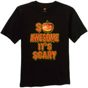 Happy Boys Black So Awesome It's Scary T-Shirt