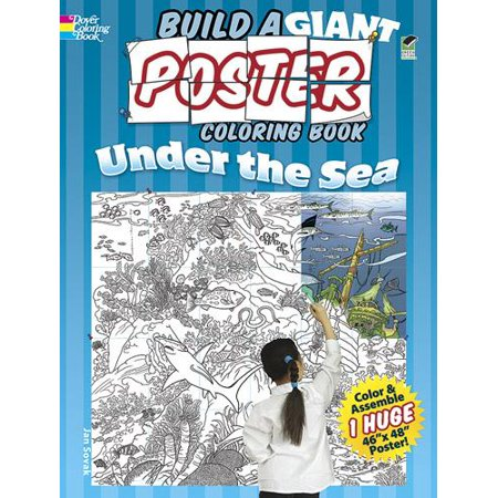 Build a Giant Poster Coloring Book -- Under the Sea](Under The Sea Animals)