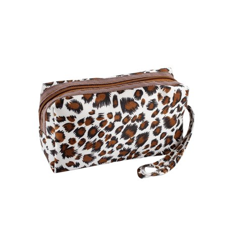Carrying String Leopard Prints Zip up  Purse Wallet for Ladies
