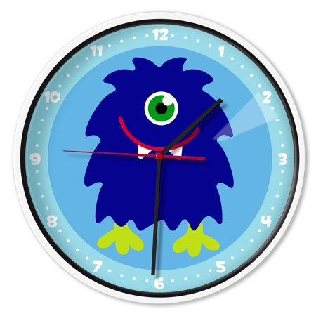 Olive Kids Monsters Wall Clock