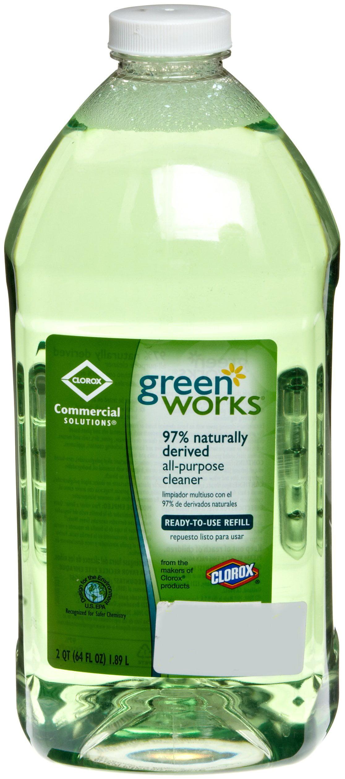Worksheet 64 Fl Oz To Quarts green works all purpose cleaner liquid solution 64 fl oz 2 by clorox