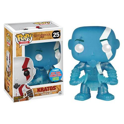 Ikon Collectables Free Shipping! God of War Kratos Bobble Head