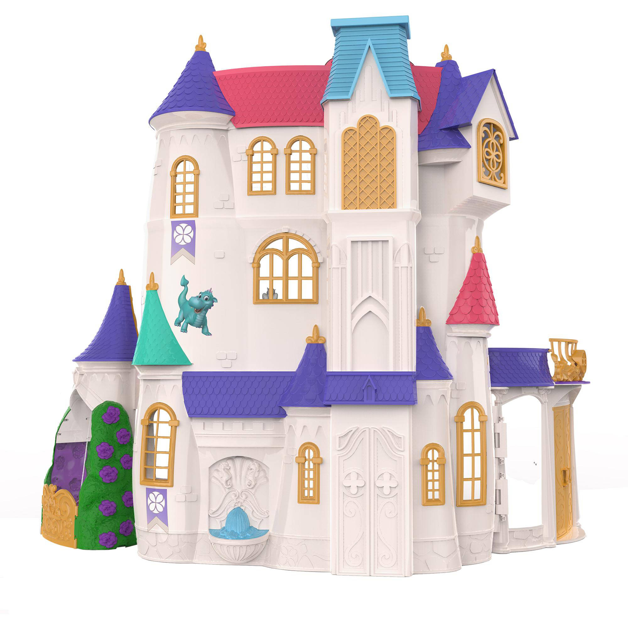 Sofia The First Bedroom Disney Sofia The First Enchancian Castle Over 3 Ft Tall Walmartcom