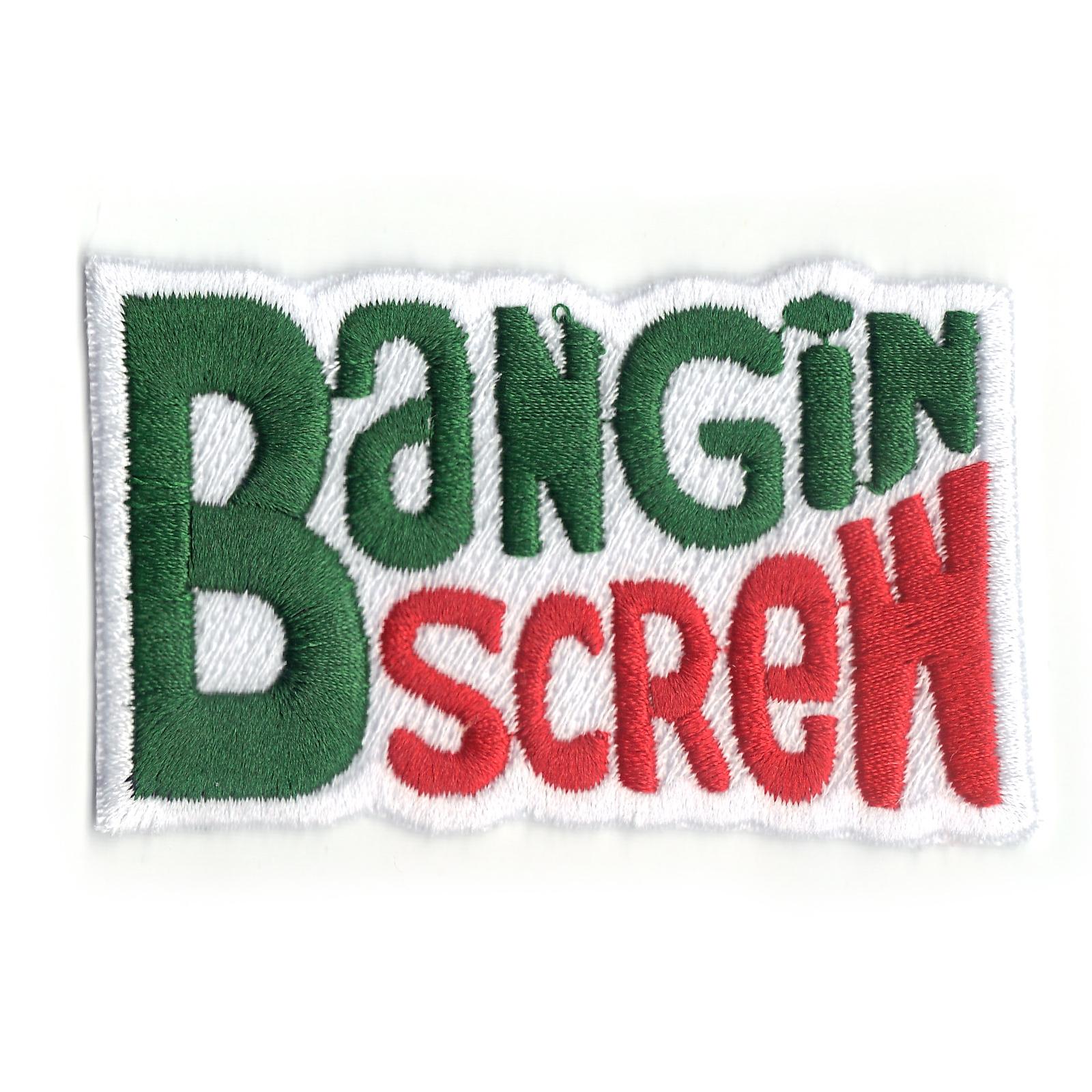 Houston Bangin Screw Soda Logo Iron On Patch