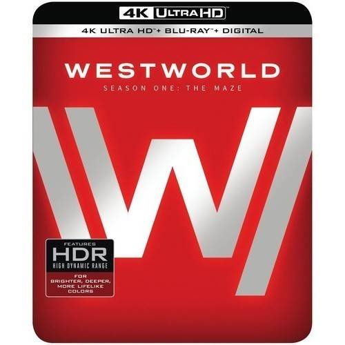 Westworld: Season One: The Maze (Limited Edition) (4K Ultra HD + Blu-ray + Digital HD)