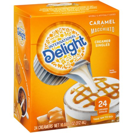 (6 Pack) International Delight Caramel Macchiato Creamers, 24 Ct