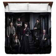 Penny Dreadful Stair Cast King Duvet Cover White 104X88