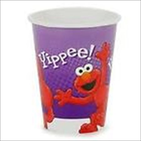 Sesame Street Elmo 'Hooray for Elmo' 9oz Paper Cups (8ct)