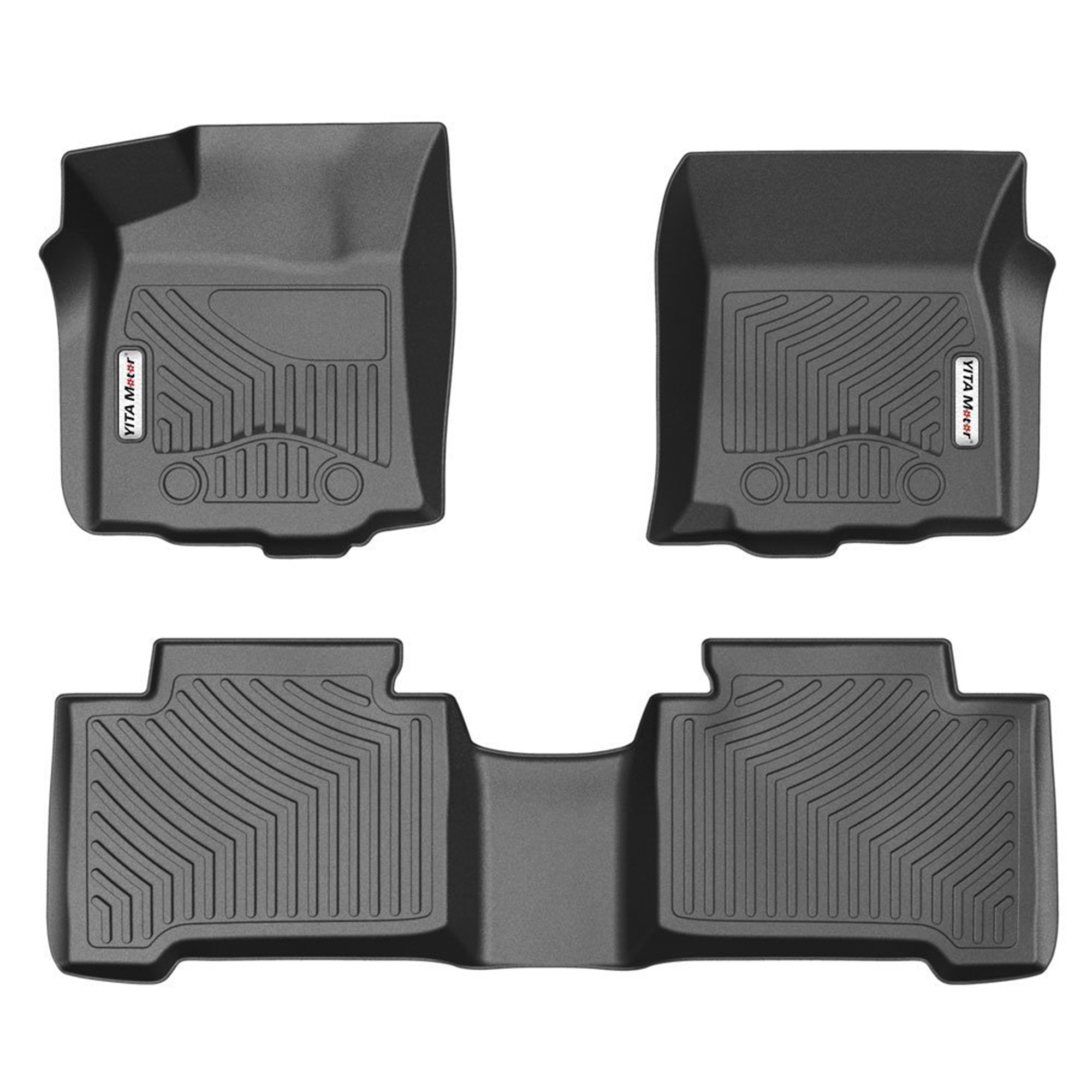 Floor Mats For 2016 2017 Toyota Tacoma Double Cab With Automatic