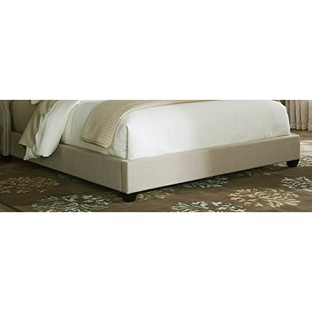 Liberty Natural - Liberty Furniture 100-BR23F Upholstered Footboard, Queen, Natural